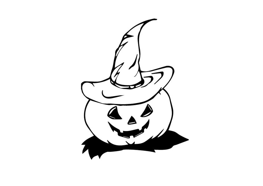 Una zucca per festeggiare halloween serenomagic for Zucca di halloween disegno