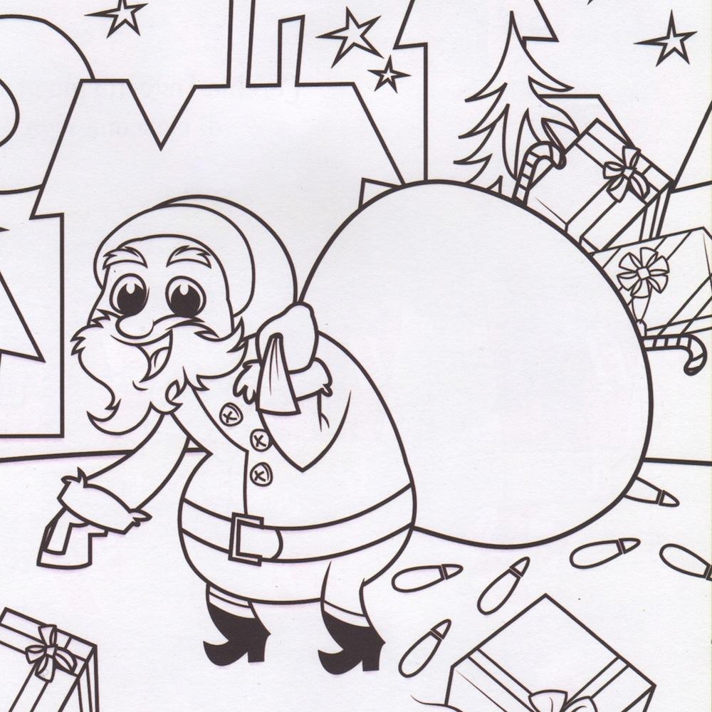 Un Bel Disegno Di Natale Da Colorare Serenomagic